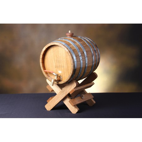 Woodtrim European Charred Oakwood 5Ltr. Cask/Barrel
