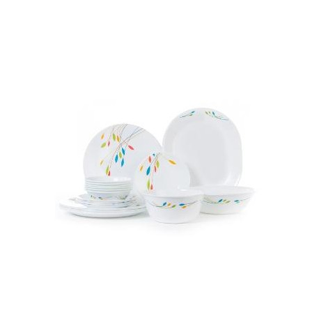 Corelle Dinner Set Rainbow  21 Pcs