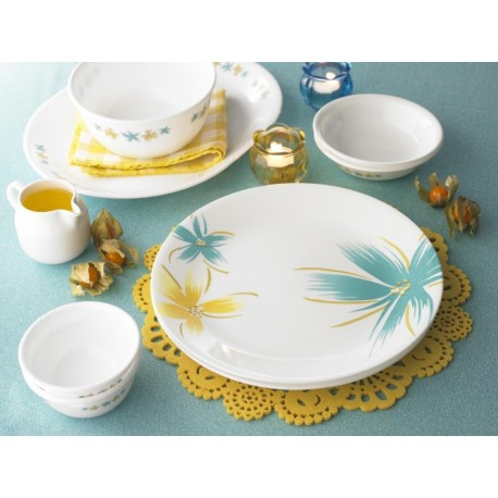 Corelle Dinner Set Hawaiian 21 Pcs