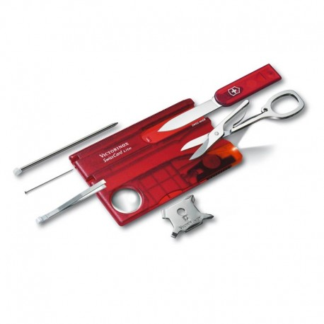 Victorinox Swiss Card Red Swiss Army Knife 0.7322.T2
