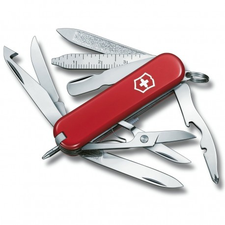 Victorinox Mini Champ Red Swiss Army Knife 0.6385