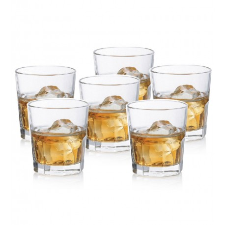 Ocean Centro Rock Whiskey Glass 12 Pcs Set - 280ml - 1907