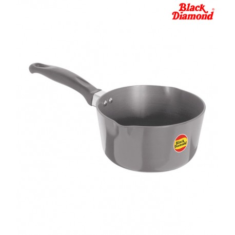 Black Diamond Hard Anodized Sauce Pan Small Two Lip - TS1 (1.4 Litre)