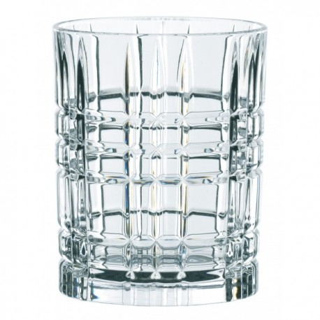 Nachtmann Square glass, Highland - 345ml Set Of 4 Pcs