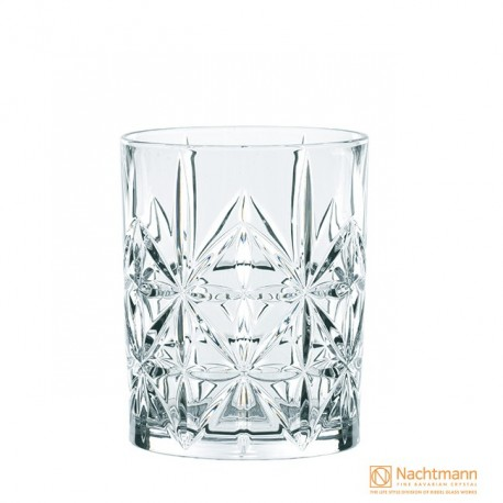 Nachtmann Cross Whisky Tumbler, Highland - 345ml Set Of 4 Pcs