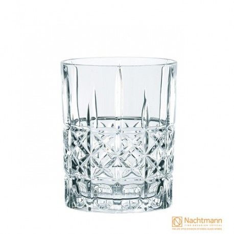 Nachtmann Diamond Whisky Tumbler, Highland - 345ml Set Of 6 Pcs