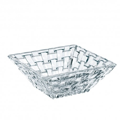 Nachtmann Bossa Nova Crystal Square Bowl, 100ml/12cm, set of 2 pcs