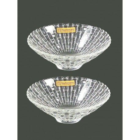 Nachtmann Bossa Nova Footed Bowl Small Set Of 2pc 12.5cm, (78535)