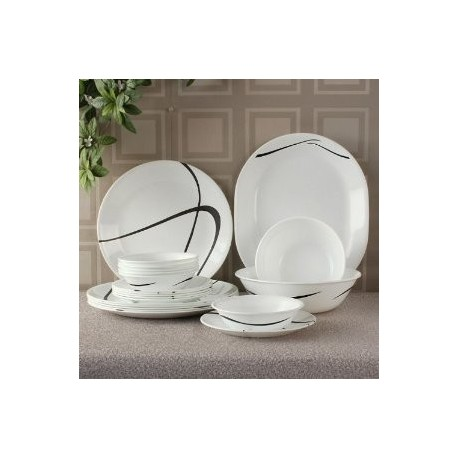Corelle Twist & Turns Dinner Set 21 Pcs