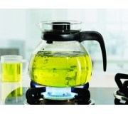 Borosil Carafe With Strainer In Lid 1.0L