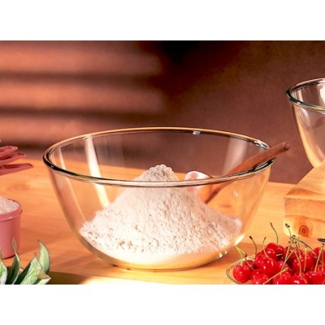 Borosil Mixing Bowls Set of 2pc,(1.7L,1.7L)