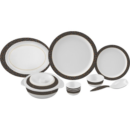 Servewell Round Dinner Set ornate 31pc