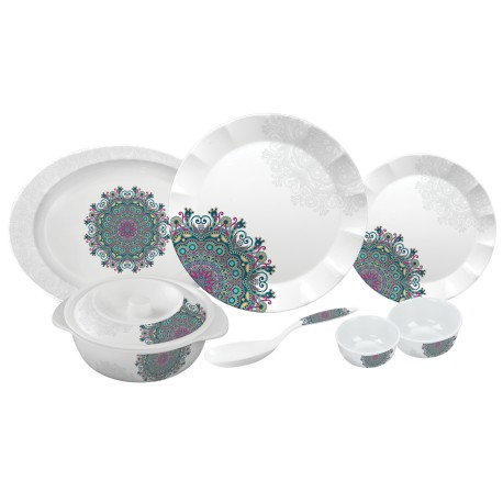 Servewell Round Dinner Set Ethnicity 31pc