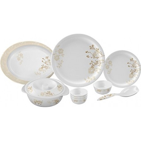 Servewell Round Dinner Set Petals 31pc