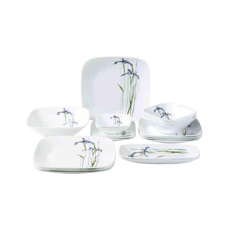 Corelle Asia Collection Dinner Set 21 Pcs (Shadow Iris)