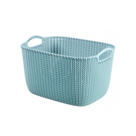 Curver Basket Rectangular Knit 10.0 Litre, (03670)