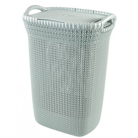 Curver Laundry Hamper Knit 57 Litre, (03676)