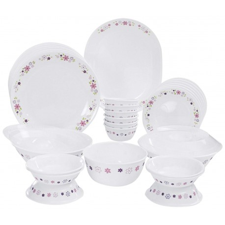 Corelle Floral Fantasy Dinner Set 30pc,