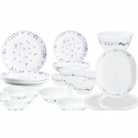 Corelle Provincial Blue Dinner Set 30pc,