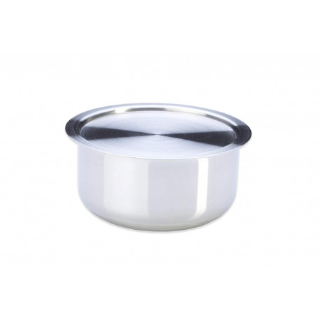 Stahl Stainless Steel Tope + Lid -14cm (Crescent)