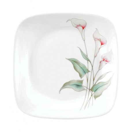Corelle Lilly Ville Small Plate 6pc (Square)