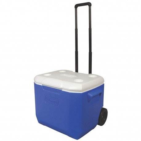 Coleman Cooler 60QT, Wheeled -Blue