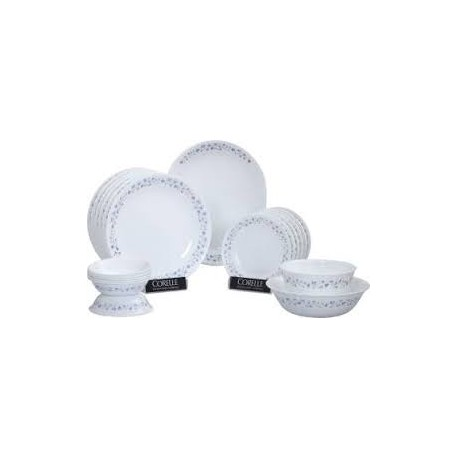 Corelle Dinner Set 21 Pcs (Provincial Blue)