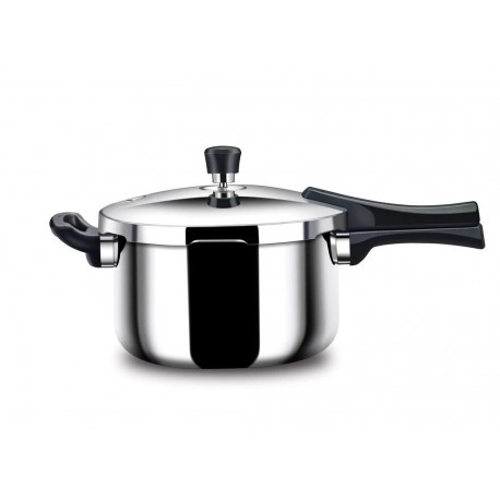 Stahl Triply Stainless Steel Cooker 2.5 Litre