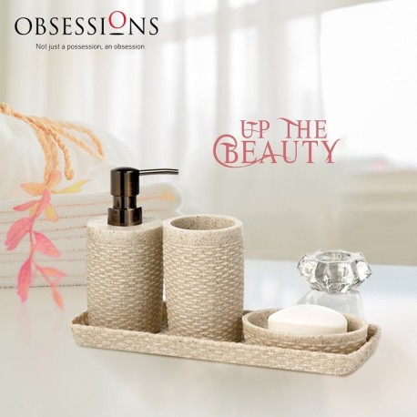 Obsessions Bathroom Set Alvina - 820115 brown