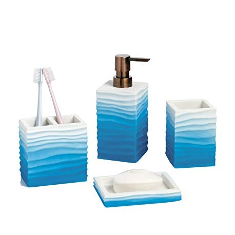 Obsessions Bathroom Set Alvina - 820111 blue